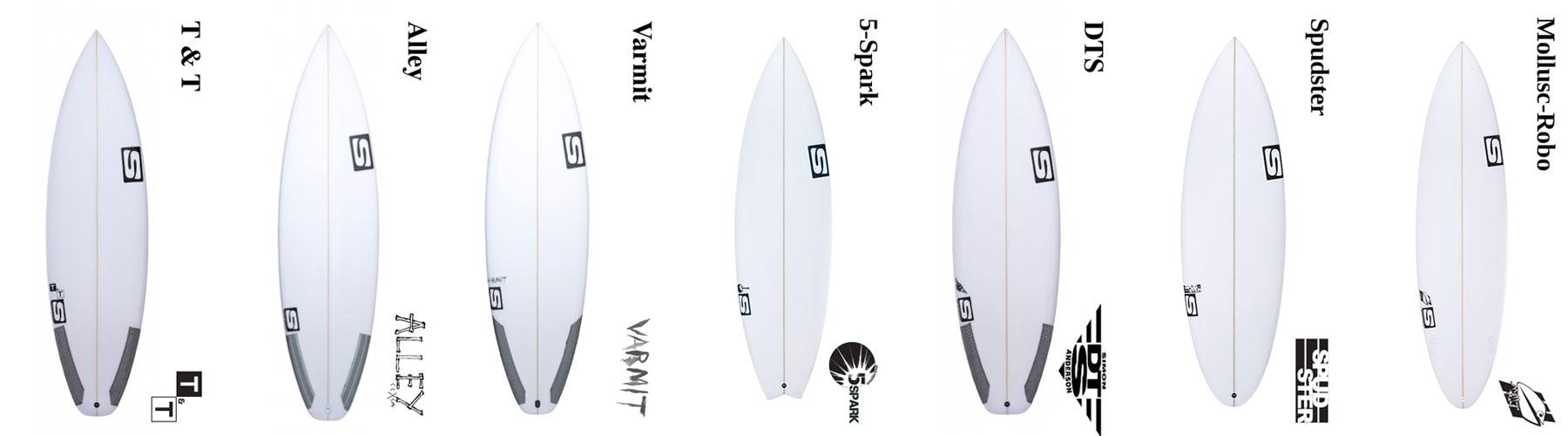 Simon anderson Custom Surfboards